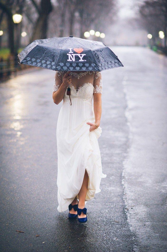 A Rainy New York Elopement | Amanda Ryan
