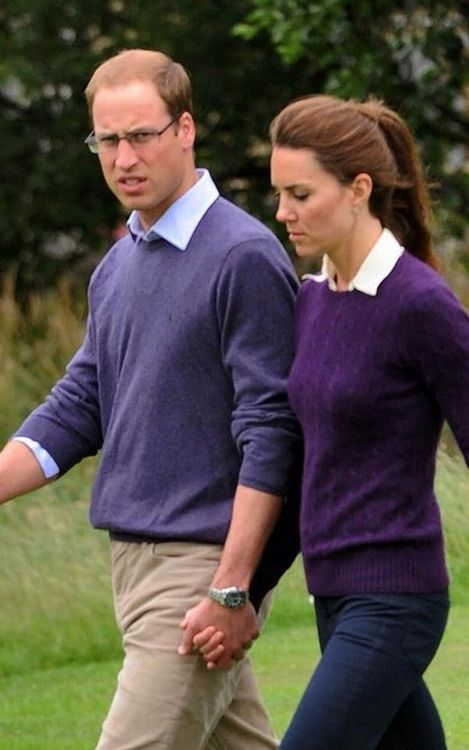 William and Kate: