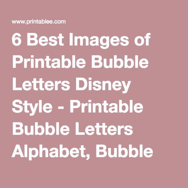 Best 25 Bubble Letter Fonts Ideas Only On Pinterest