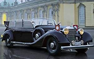 ICM 35533 - Modellino auto d'epoca tipo 770K (W150) della Seconda Guerra Mondiale, scala 1:35 Modello dettagli Modello - Kit richiede assemblaggio e pittura Vernice e colla NON è in dotazione