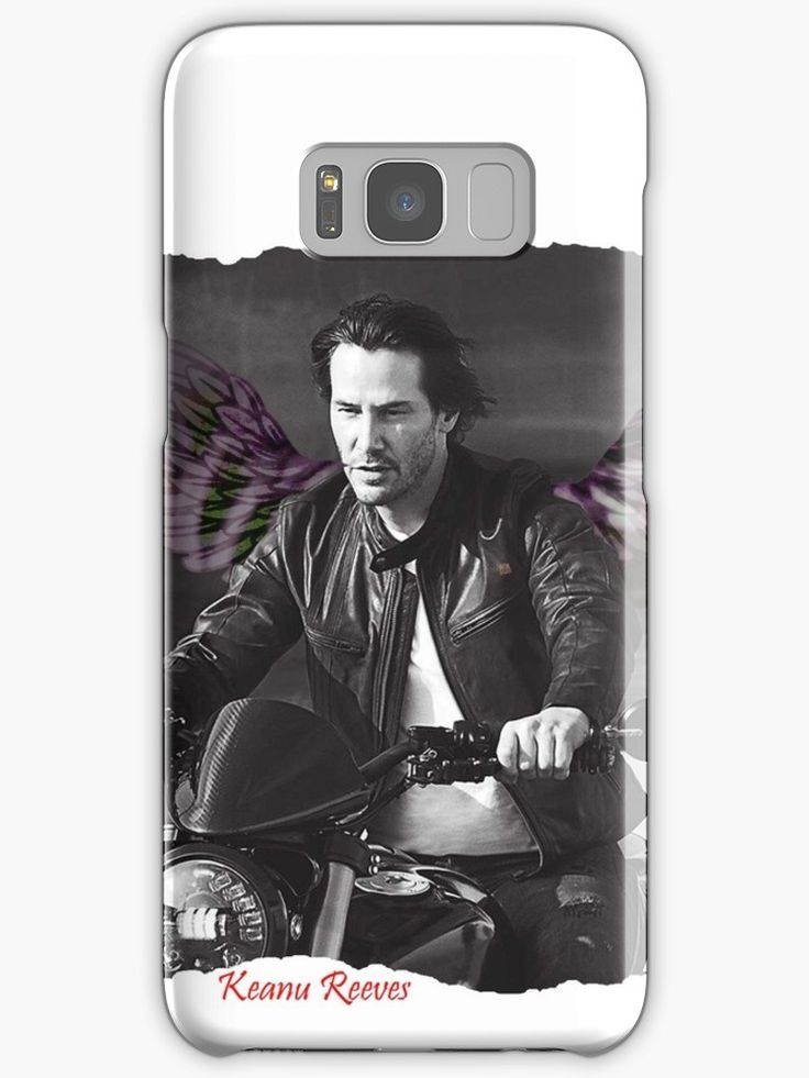 Keanu Reeves – Your bike gives you wings • Also buy this artwork on phone cases, apparel, stickers, and more.