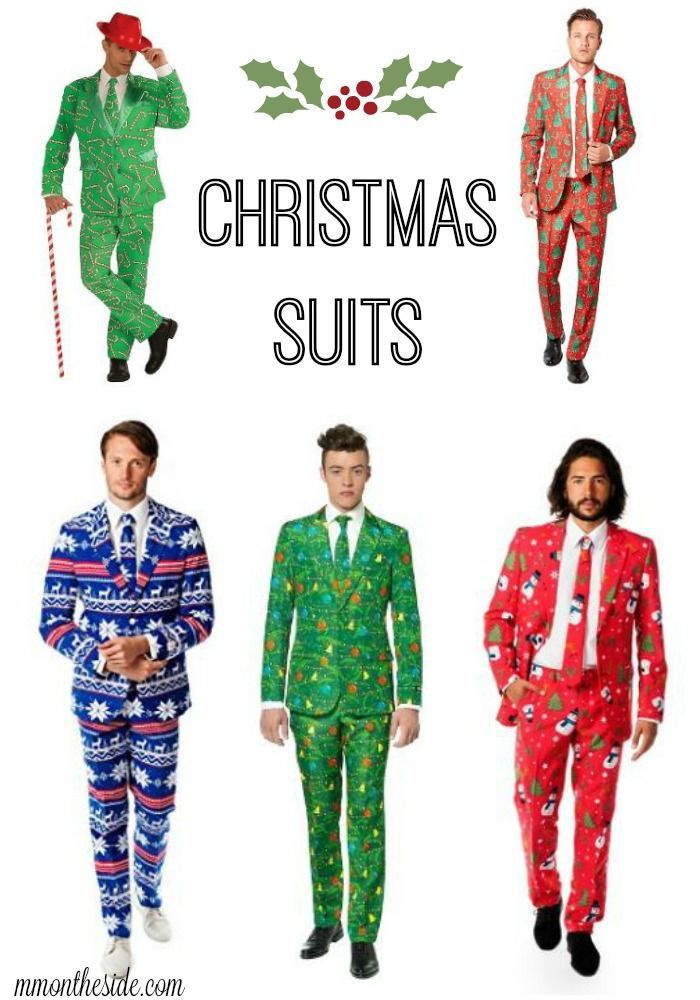 I just came across Christmas Suits and oh my awesomeness! Forget Ugly Sweater Parties, Christmas Suit Parties are where it's at!