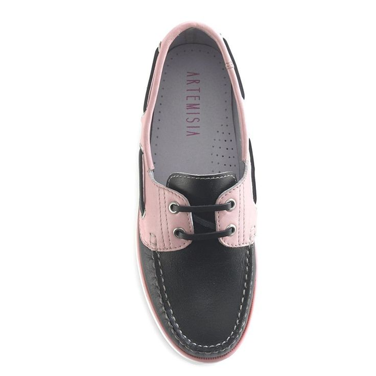 Diana Black Boat Shoe Use Coupon Code: Momis100%