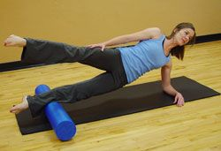 Foam Roller Pilates Workout - love these!