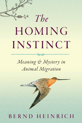 The Homing Instinct: Meaning and Mystery in Animal Migration by Bernd Heinrich, http://www.amazon.com/dp/B00E78IC9W/ref=cm_sw_r_pi_dp_6U4Gtb04KRP2Z