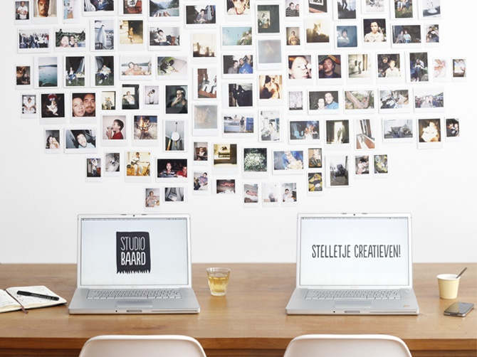 The Office Polaroid Wall Instagram Wall Office