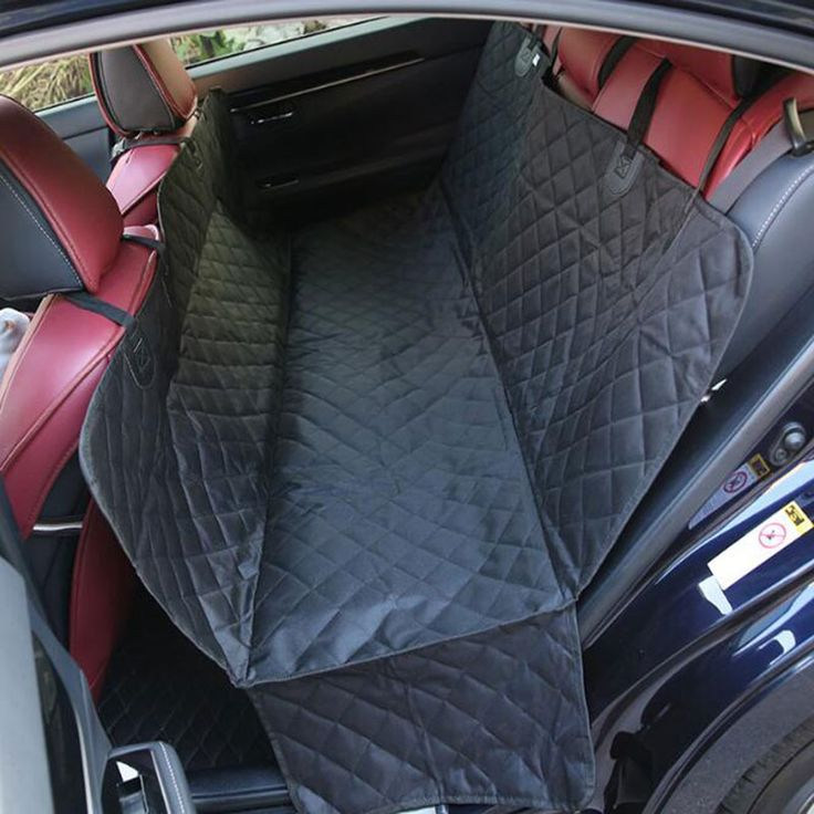 Моющийся Pet Гамак задняя сиденье автомобиля крышки протектор два места собака коврики Pet детское сиденье Подушки Нескользящим собака автовоз