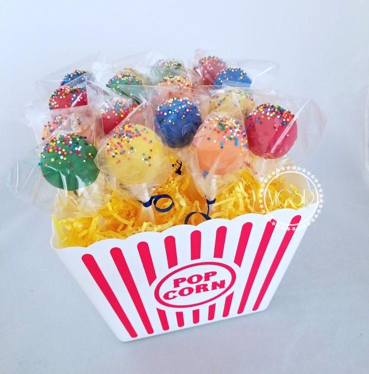 Carnival -Circus Cake Pops