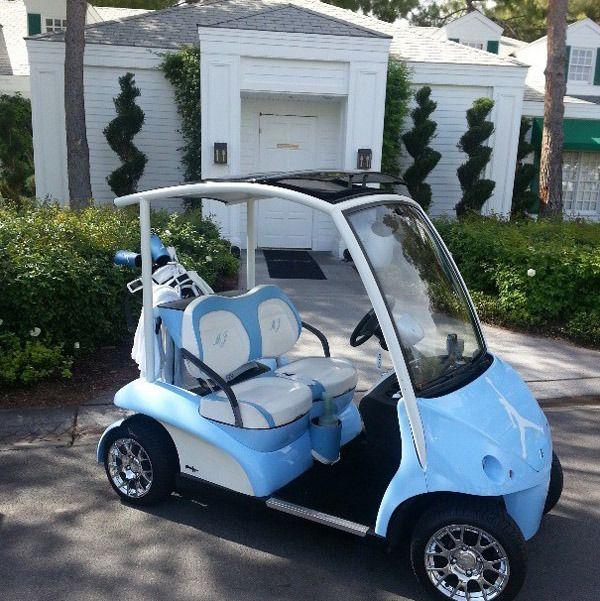 Michael Jordans PIMPED-OUT Golf Cart (Photos)
