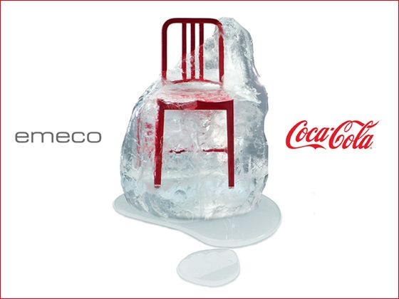 Emeco 111 Navy Side Chair Coca Cola Collaboration Emeco Coca Cola