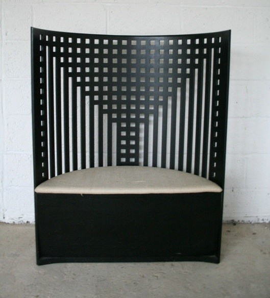 1000 images about mackintosh furniture on pinterest pewter armchairs and music rooms. Black Bedroom Furniture Sets. Home Design Ideas