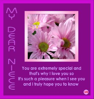 love my niece quotes niece poems Quotes Pinterest Love you ...