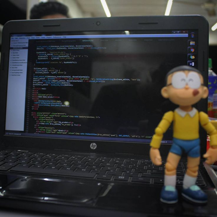 Why Nobita is so happy? Because his code is totally success. But he don't know why  . . #coding #pemrograman #programmers #web #unindra #mahasiswa #coder #php #bootstrap #javascript #sublime #software #backend #frontend #computerscience #computerengineering