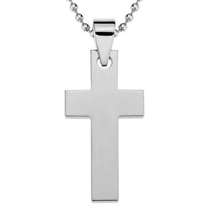 CYGNUS Tungsten Jewelry Cross Pendant
