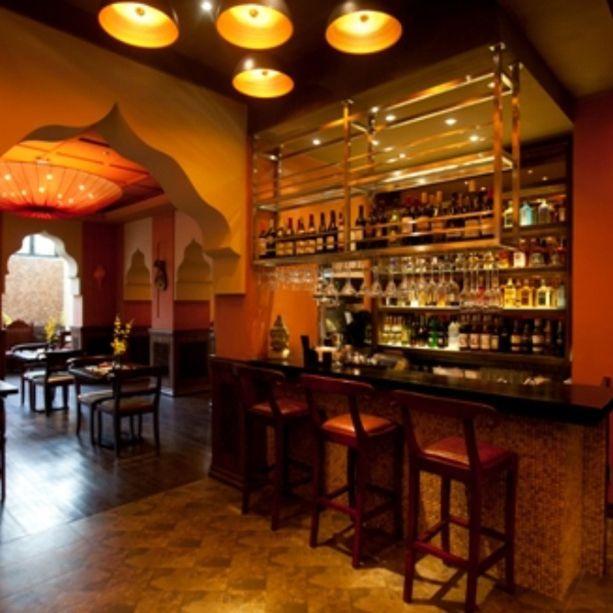 Saffron, Indian Restaurant, Shanghai, By Red Design Consultants