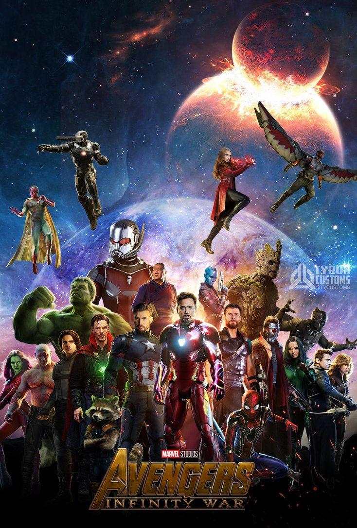 Avengers Infinity War Poster Fanart Avengers Wallpaper Avengers Marvel Avengers Funny