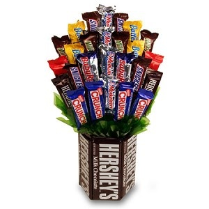 candy arrangement idea
