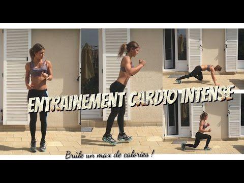 HIIT with me ! CARDIO maison intense SANS MATERIEL - YouTube