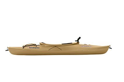 Amazon.com : Sun Dolphin Excursion Sit-in Fishing Kayak (Sand, 10-Feet) : Sports & Outdoors