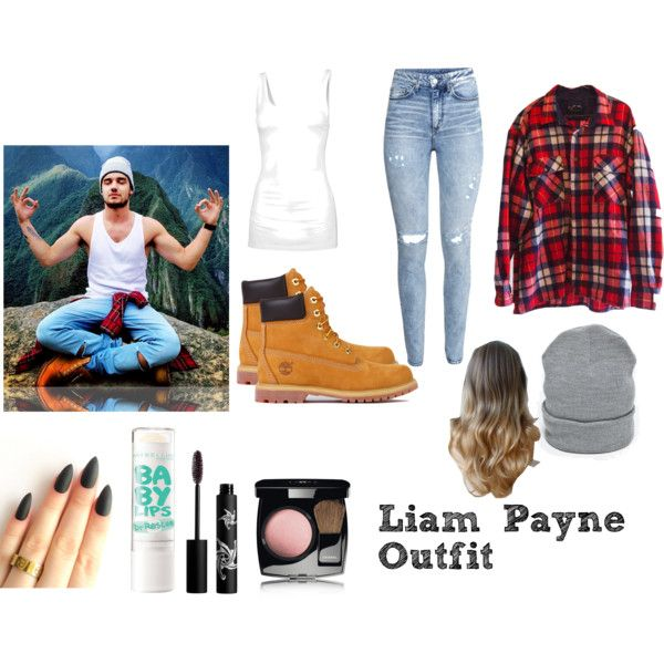 Liam Payne Outfit by gailorsanaa on Polyvore featuring Fat Face, H&M, Timberland, Rouge Bunny Rouge, Chanel and Maybelline