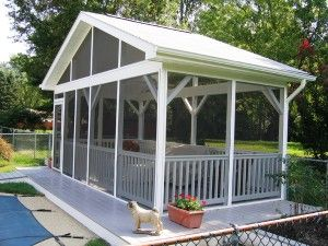 Are you in need of a little more extra space at home or wanting to increase your home value? A screen porch design can offer you many advantages while increasing your home value. Learn how you can reap the benefits: