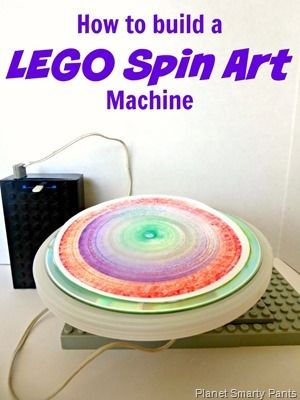 10 best spin art images on pinterest how to build a lego spin art machine solutioingenieria Images