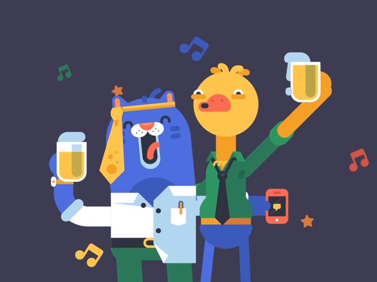 Dribbble - Woo Hoo!! It's Friday by ARM Thanat Sattavorn