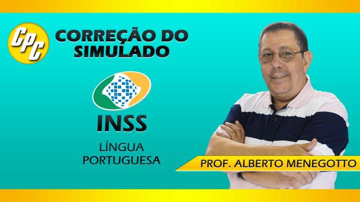 Simulado INSS - Correção de Língua Portuguesa