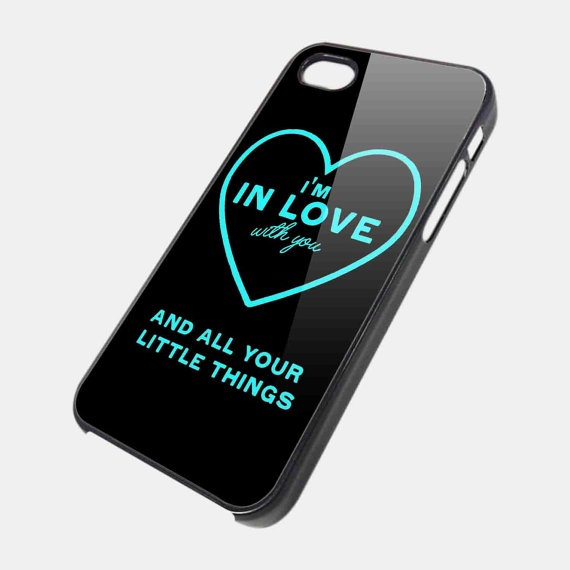 iPhone 5 Case One Direction Quote iPhone 4 / 4S by CaseApartment, $14.99