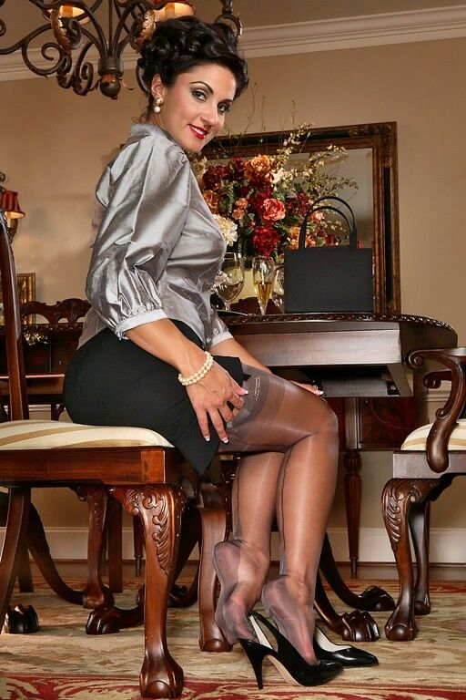 Pin on For the love of leg fashion and nylons.
