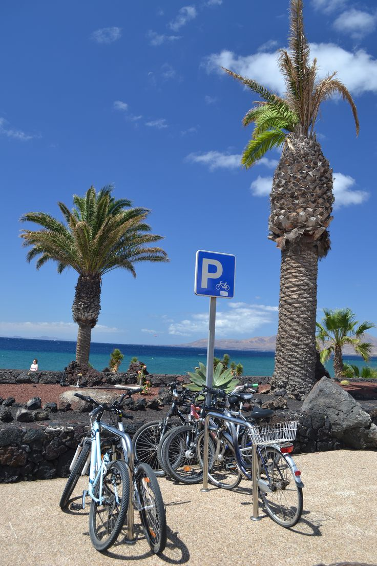 There's no heat alert in place for today as yet, it's sunny and the temperature is expected to reach 27 degrees in Lanzarote. Little to no wind with 0-10 km/h variable direction from north east to south east. Image: Bike Parking in Puerto del Carmen Published: 12th May 2014