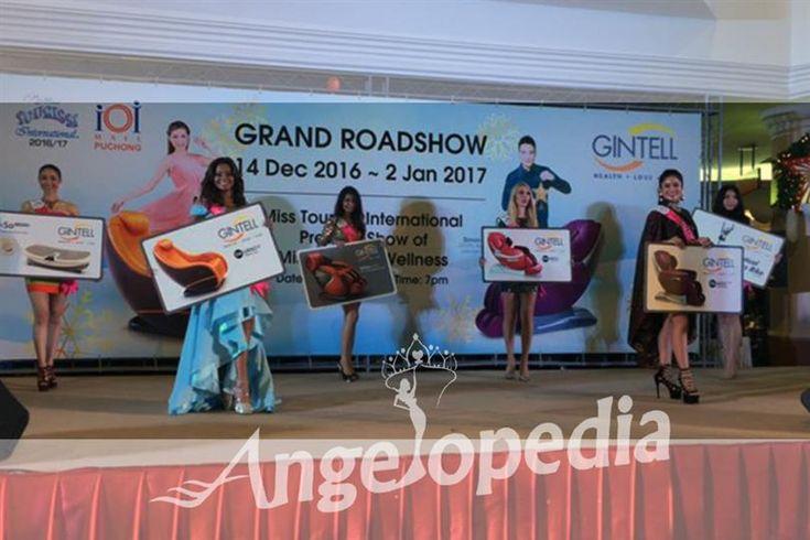 Miss Tourism Philippines 2016 wins GINTELL Wellness award
