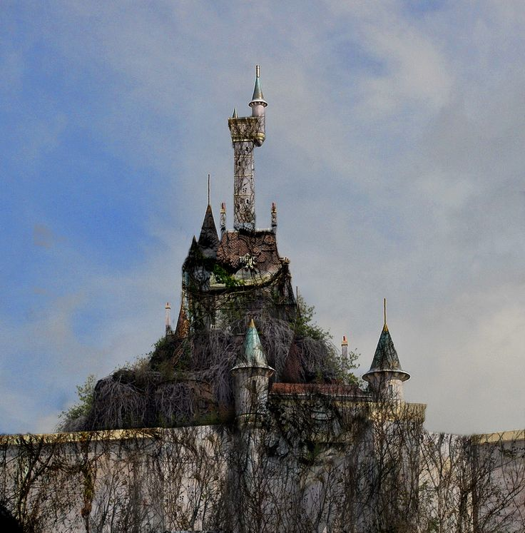 "the20inchblades: "" Life After Disney:BeastsCastle by eledoremassis02 """