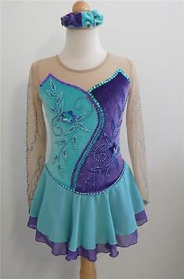 Kim Competition Ice Skating Dress Size 6-7