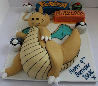 Dragonite Cake