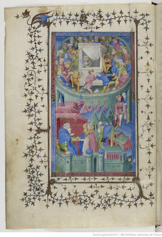 Publius Terentius Afer , Comediae : Andria,  Eunuchus,  Heautontimoroumenos, Adelphoe, Hecyra, Phormio ; Epitaphium Terentii ; Laurentius de Primo Fato , Commentum, 1400-1407