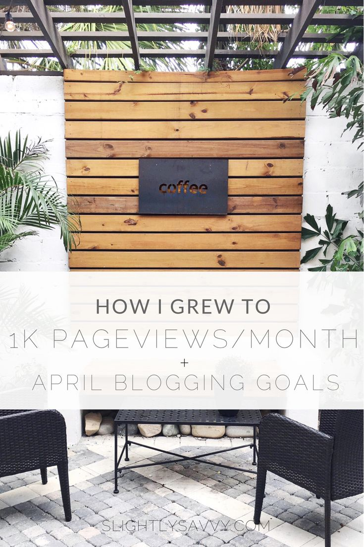 How I grew my blog to over 1,000 page views in just 1 month.