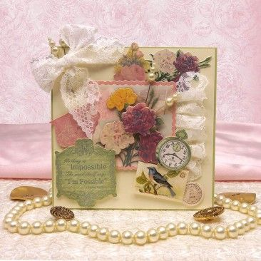 Antique Chic Luxury Card Collection by Hunkydory Crafts - Google Search