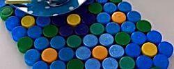 Ideas geniales para reciclar tapas plásticas