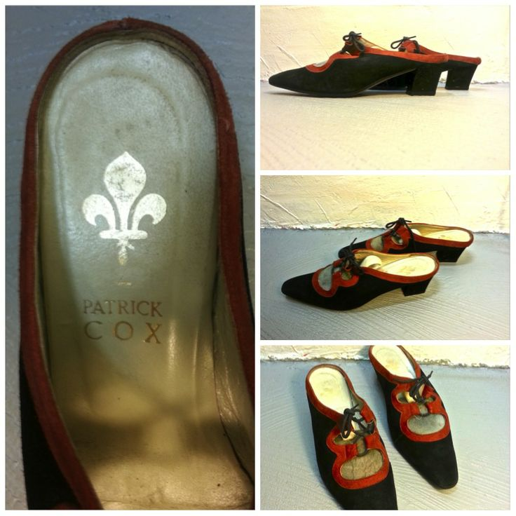 Chaussures PATRICK COX Vintage, Taille 36, 89.- Collection privée © Solo-Mâtine