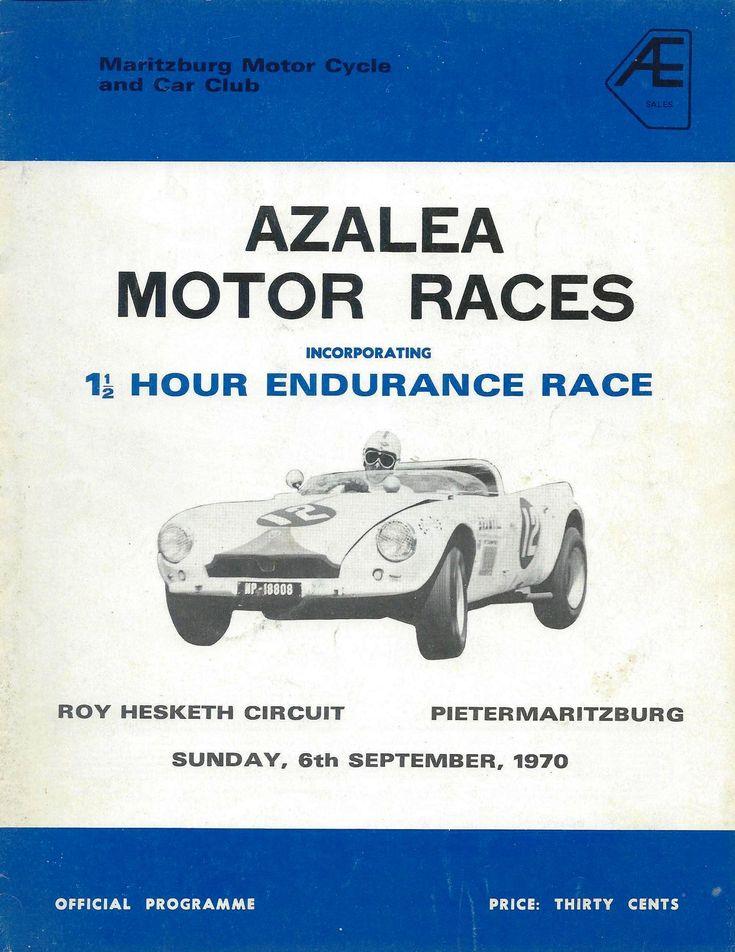 Roy Hesketh Racing Programmes 1953-1981 | Pietermarizburg