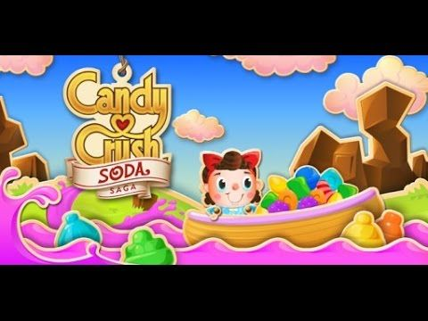 NEW candy crush soda saga game 2017 | candy soda crush | candy crush sag...