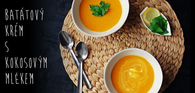 FoodLover: Batátový krém s kokosovým mlékem