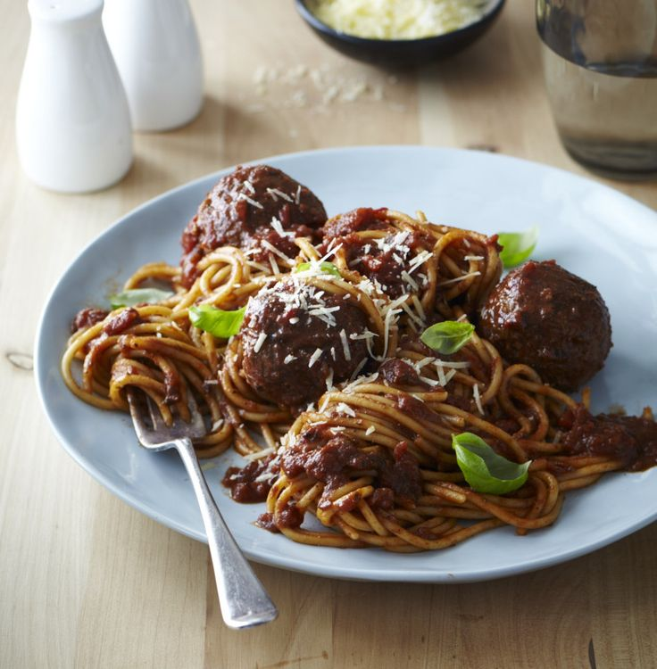 The best spaghetti and meatballs from Chelsea Winter: http://chelseawinter.co.nz/spaghetti-meatballs/