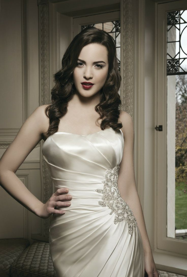 31 best Justin Alexander images on Pinterest   Wedding dressses ...