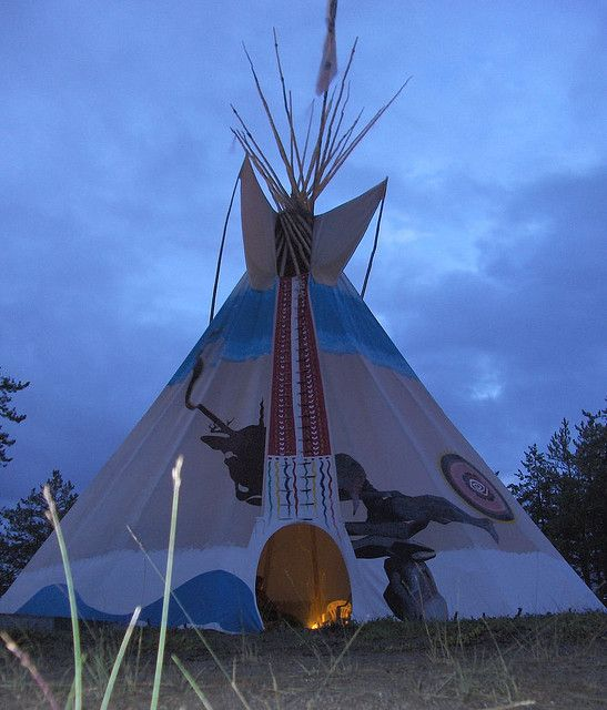 Tipi by Yellowknife, via Flickr
