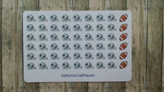 Dallas Cowboys Football Helmet Planner by AshlynsCraftHaven