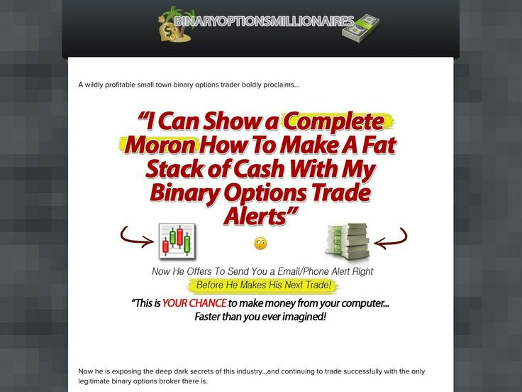 Wall street millionaire binary options