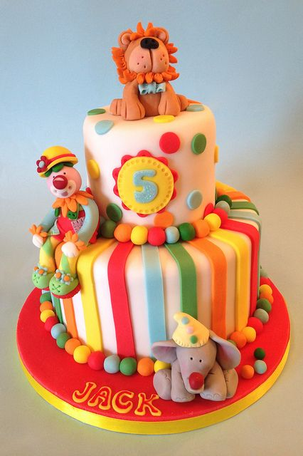 Circus Cake | Flickr - Photo Sharing!