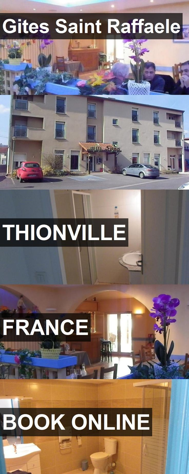 Hotel Gites Saint Raffaele in Thionville, France. For more information, photos, reviews and best prices please follow the link. #France #Thionville #travel #vacation #hotel